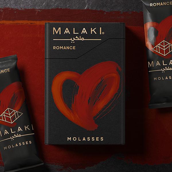 ТАБАК ДЛЯ КАЛЬЯНА MALAKI Romance (Романс) 50Г